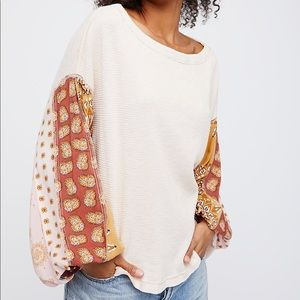 NWT Free People Blossom thermal